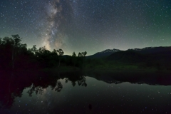 高原池に星降るⅢ