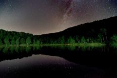 星影の高原池