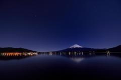 月夕の河口湖Ⅱ