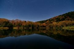 北斗七星と木戸池