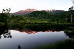 静寂の高原池