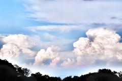 マシュマロの入道雲