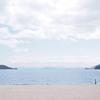 砂と水平線