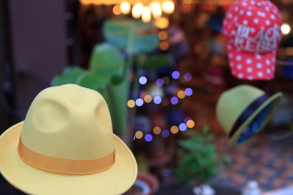 原宿の帽子