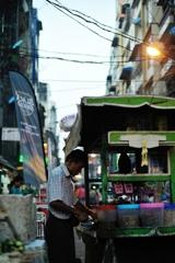 at yangon street