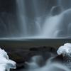 冬の滝場Ⅱ