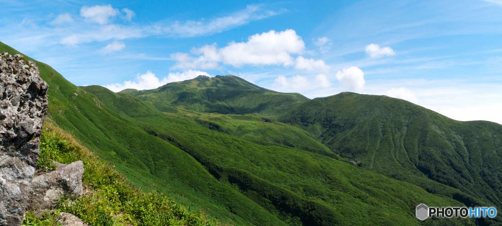 東竜巻からの眺め