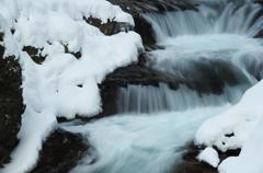 伏伸の滝2014冬