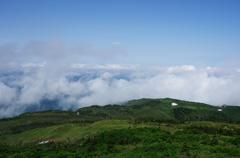森吉山山頂からⅠ