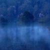 秋元湖の朝Ⅱ