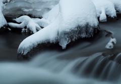 冬の滝場Ⅳ