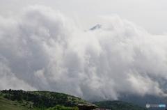 胴巻き岩手山