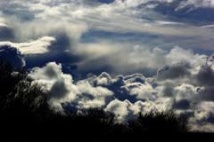 冬雲集めて