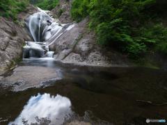 桃洞滝・引き