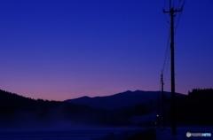 明けの冬里