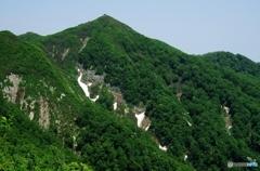 太平山・奥岳を望む