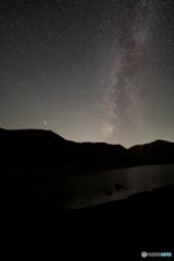 阿弥陀池の天の川