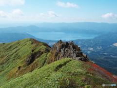 五百羅漢と田沢湖