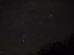 須川野営場の夜Ⅰ