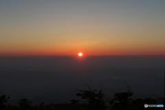 山のおはよう