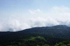 森吉山山頂からⅢ
