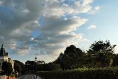 山手十番館と外国人墓地