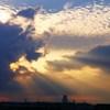 雲の遮光に感謝