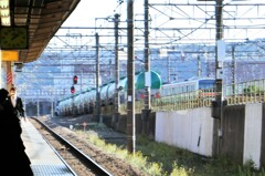 JR府中本町駅ホーム