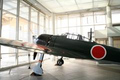 遊就館の零式艦上戦闘機52型