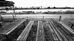 河畔の茶屋