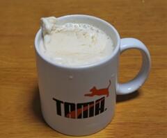 ホットコーヒーフロート