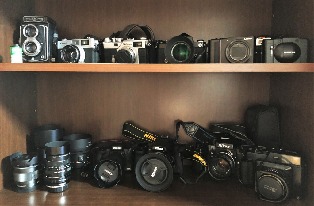 カメラが三密