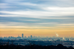 二子山展望台からの眺め