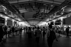 大崎駅 19:16 p.m.