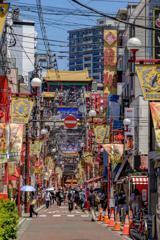夏の横浜中華街