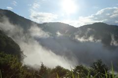 沸き立つ雲