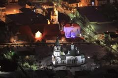 夜のハリスト正教会(Amazing Grace )