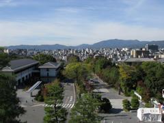 三門から京都市内