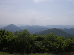 大江山周辺の山脈