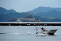 広島の軍艦島