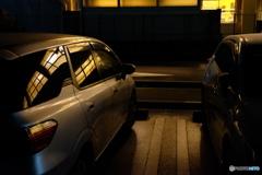 夜の駐車場シリーズ #3