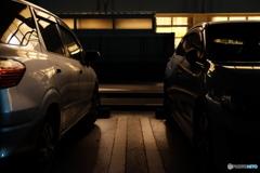夜の駐車場シリーズ #4