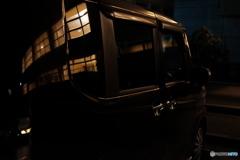 夜の駐車場シリーズ #5