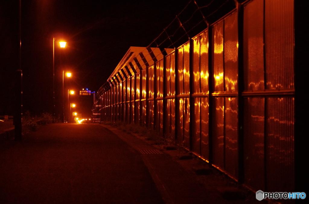 NGK工場フェンス