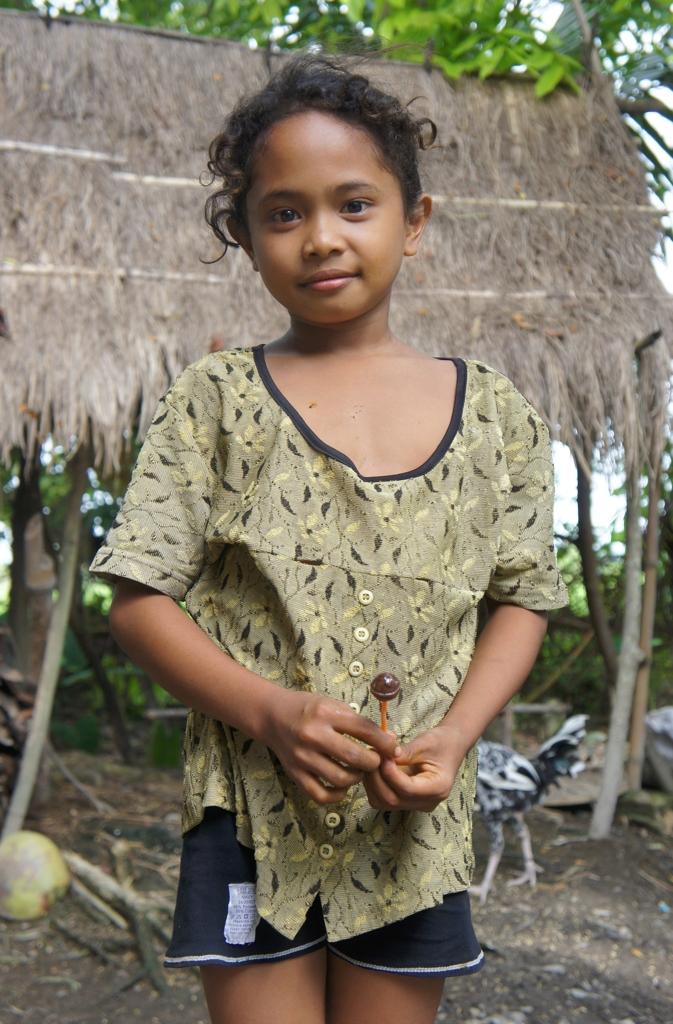 少数民族の少女