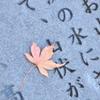 一枚の落ち葉