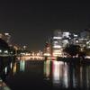 普段の淀屋橋、夜景3