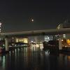 普段の淀屋橋、夜景1