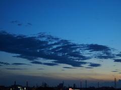 真夏の夕暮れ