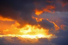 雲からのメッセージ